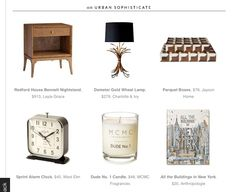 6 Chic Ways to Decorate a Nightstand via Domaine #laylagrayce #press