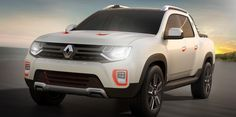 The Renault Duster Oroch, a crew cab ute based on the Dacia Duster SUV, will debut at this year's Sao Paulo auto show. Unlike the Duster ute that's being produced in limited numbers for Petrom, a Rom . Audi Rs3, Jeep Truck, Pickup Trucks, Logo Audi, Sedan Audi, 4x4, Nova, Dacia Duster, Nissan Navara