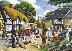 Village life (88 pieces)