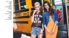 fashion editorials in a high school - Google Search