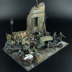 """Bootblack"" 1/35 Scale Model Diorama"