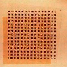 "halftimesubstitute: "" Jesús Rafael Soto. Metamorfosi, 1954 """