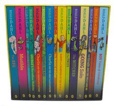 Roald Dahl Collection - 15 Paperback Book Box Set New + Sealed Penguin UK 2016