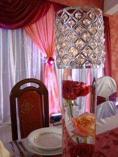 kryształowa tuba  Wedding Decorations
