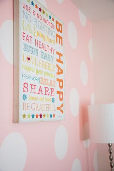Third and Patterson: Sweet Pink Polka Dot Room
