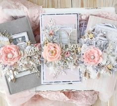 Mixed Media Cards, Shabby Chic Cards, Pretty Cards, Creative Cards, Greeting Cards Handmade, Cardmaking, Birthday Cards, Paper Crafts, Floral