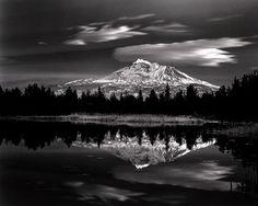 Mount Shasta - 2008 - Roman Loranc. Black and white