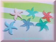 ''My Starfish Dreams''soap by Eleni Cream Baths, Homemade Cosmetics, Light Of The World, Queen, Bath Salts, Bath Bombs, Starfish, Soaps, Scrubs