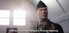 Gunnery Sergeant Thomas Highway - amazing 3D illustration