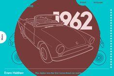 James Bond Cars Evolution by Evans Halshaw All The James Bonds, James Bone, Interactive Infographic, James Bond Cars, Fancy Cars, Tv Commercials, Web Design Inspiration, Car Detailing, Cool Websites