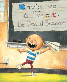 Booktopia has David Goes to School, David by David Shannon. Buy a discounted Hardcover of David Goes to School online from Australia's leading online bookstore. David Shannon, No David, Beginning Of School, First Day Of School, Back To School, Starting School, School Stuff, Teacher Magazine, Read To Self