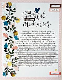 Little Things, Big Days: Felicity Jane November Kit