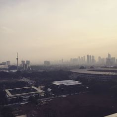 Filter on the photo to show the need for filter on the air. #jakarta
