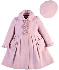 girl toddler coats light pink