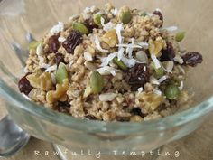 Rawfully Tempting™: Fabulous Living Oatmeal