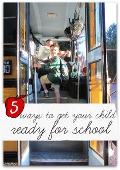 Simple ways to get your kids ready for preschool / Kindergarten from a former teacher.