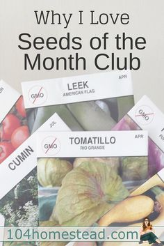 Mike the Gardener is the man behind Seeds of the Month Club, a monthly subscription service that delivers open pollinated, non-GMO seeds to your mailbox.