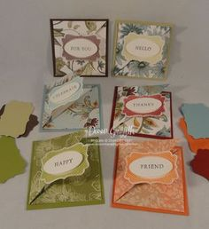 April 2011 Thank you notes