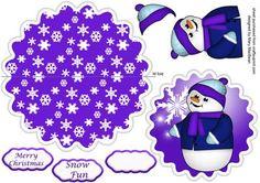 Christmas Wobbles - Snowman