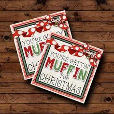 Christmas Gift Tags Printable, Christmas Gifts For Coworkers, Christmas Gift Box, Christmas Gift Wrapping, Personalized Christmas Ornaments, 12 Days Of Christmas, Perfect Christmas Gifts, Christmas Printables, Printable Tags