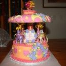 Coolest Carousel Birthday Cake - Coolest Birthday Cakes