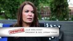 Words of Wisdom: Julie Smolyansky, President & CEO, LIFEWAY FOODS  #startupusa #rebuildingamerica #mentormonday #smallbusiness #entreprenuer #femaleCEO #kefir #PBS #wordsofwisdom #lifeway #foodprenuer #startup #success #businesswoman