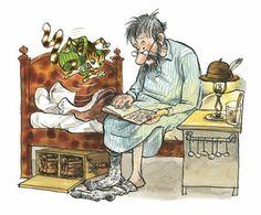 Иллюстрация к книге «Механический Дед Мороз»  - Свен Нурдквист
