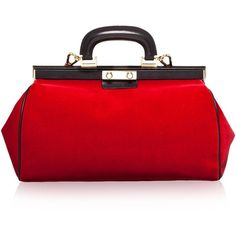 Frame bag Marni (1,545 BAM) ❤ liked on Polyvore featuring bags, handbags, purses, accessories, borse, studded handbags, marni, purse bag, red hand bags and handbags purses
