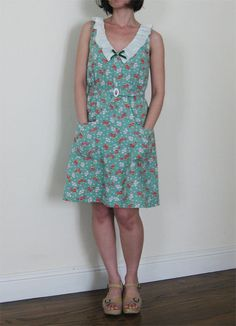 such a cute dress! I think I need to start sewing for myself!