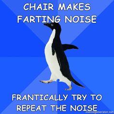 socially awkward penguin - Bing Images