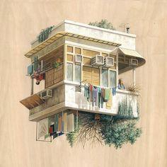 Cinta Vidal's Paintings Exist Within Several 'Gravities'