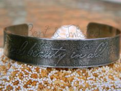 Etched German Silver Cuff $35.00 http://www.artfire.com/ext/shop/product_view/4694826