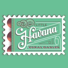 Havana Cigars! For @herb_lester #design #typography | Flickr - Photo Sharing!