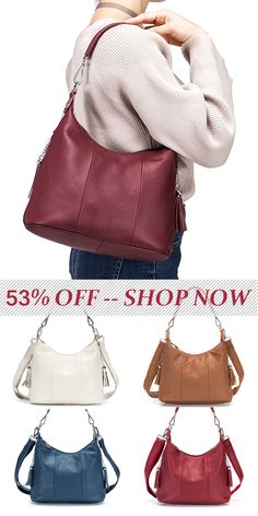 Brenice National Style Vintage Genuine Leather Casual Crossbody Bag Handbag For Women is designer, see other cute bags on NewChic. Cute Bags, Leather Crossbody Bag, Handbag Accessories, Purses And Handbags, Vintage Ladies, Vintage Outfits, My Style, Casual, Summer Clothing