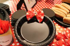 Mickey & Minnie Mouse party Birthday Party Ideas | Photo 11 of 32 | Catch My Party