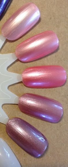The Pinks by Vapid Lacquer Nail Polish, Nails, Pink, Handmade, Finger Nails, Hand Made, Ongles, Hot Pink, Manicure