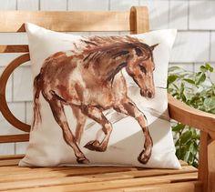 Sleeping in Equestrian Style - Pottery Barn | Velvet Rider