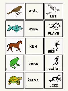 Pro Štípu: Skladame jednoduche vety Preschool Activities, Activities For Kids, Baby Time, Pictogram, School Classroom, Kids Education, Speech Therapy, Montessori, Coloring Pages