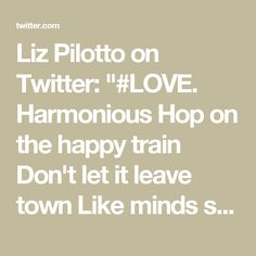 Liz Pilotto on Twitt