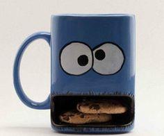 Cookie monster mug