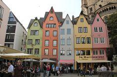 Cidade de Köln (Colônia), na Alemanha.