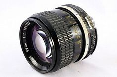 Nikon Ai NIKKOR 85mm F/2 1:2 MF Lens w/ Hood HS-10 From Japan A10 - EXCLUSIVE DEAL! BUY NOW ONLY $179.55