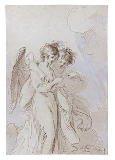 Benjamin West ~ Two Angels Singing ~ 1783