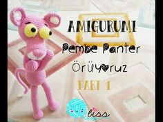 amigurumi pembe panter yapımı | bölüm 1| Pink panther construction | part 1 | biss - YouTube