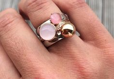 Stone Jewelry, Body Jewelry, Unusual Rings, Bling, Jewelry Trends, Ring Designs, Fashion Rings, Gemstone Rings, Jewels