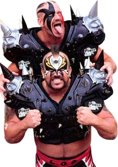 The Road Warriors Wrestling Tattoos, Wrestling Wwe, Chyna Laurer, The Road Warriors, Warrior 1, Wrestling Superstars, Professional Wrestling, Wwe Wrestlers, My Childhood