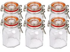 Set of 6 Spice Jars Spice Jars, Diy Tools, Montessori, Mason Jars, Spices, Child, Stuffed Peppers, Amazon, Spice