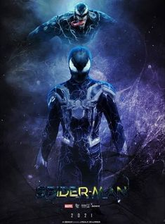 Spider-Man X Venom movie in 2021 New Spiderman Movie, Black Spiderman, Amazing Spiderman, Spiderman Pictures, Marvel Venom, Marvel Fan, Marvel Heroes, Venom Mcu, Marvel Characters