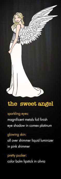 The Sweet Angel - Halloween Looks - Beauty, Cosmetics, Makeup - Stila Cosmetics