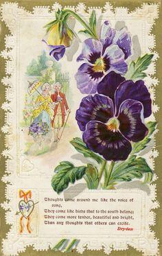 Vintage Love Postcard